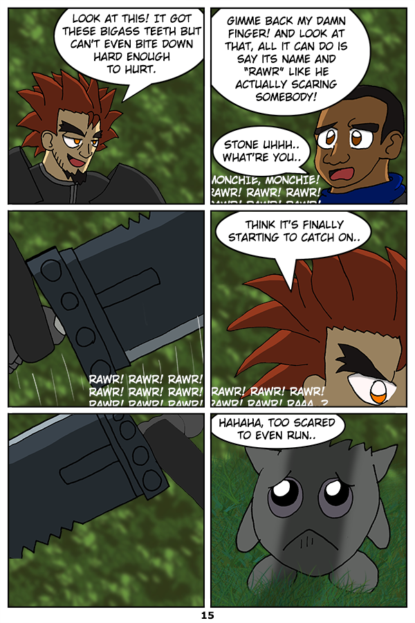 Page 15: Catching On